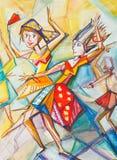 danser illustration stock