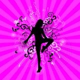 Danser illustration de vecteur