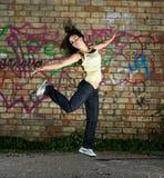 Danser. stock foto's