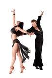 Danser in actie Royalty-vrije Stock Fotografie