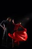 Danser in actie Stock Afbeeldingen