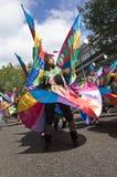 Danser bij de Notting Heuvel Carnaval Royalty-vrije Stock Fotografie