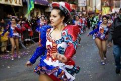 Danser bij een parade Stock Fotografie