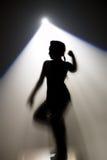 Danser del disco Imagen de archivo libre de regalías