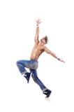 Danser het dansen dansen Stock Afbeeldingen