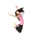 Danser Jumping Royalty-vrije Stock Fotografie