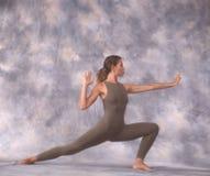 Danser in lunge Royalty-vrije Stock Afbeelding
