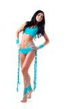 Danser met bodyart royalty-vrije stock fotografie