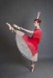 Danser met een tamboerijn Royalty-vrije Stock Afbeelding