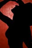 Danser met landhoed Royalty-vrije Stock Fotografie