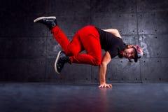Danser in motie Stock Afbeelding