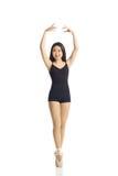 Danser Posing Engelse Pointe Royalty-vrije Stock Foto