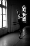 Danser in Studio Royalty-vrije Stock Afbeeldingen