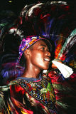 Danser van Braziliaanse volksdans Royalty-vrije Stock Afbeeldingen