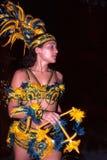 Danser van Braziliaanse volksdans Royalty-vrije Stock Foto