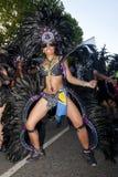 Danser van de vlotter Bachanalia Stock Foto's