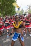 Danser van de vlotter van de Wereld van Volkeren Stock Foto