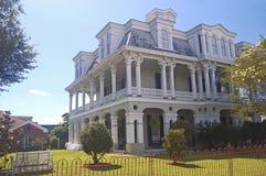 Dansereau豪宅在Thibodaux,路易斯安那 免版税库存照片
