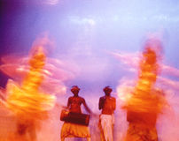 Dansers 08 van Ceylon Royalty-vrije Stock Foto