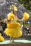 Dansers 1736 van Tahitian Stock Foto's