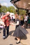 dansers stock fotografie