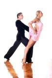 Dansers in balzaal Stock Foto