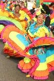 Dansers in een fiesta in Cartagena, Colombia Royalty-vrije Stock Afbeelding