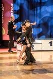 Dansers het dansen Latijnse dans Stock Foto