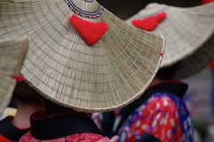 Dansers Inuyama royalty-vrije stock foto's