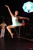 Dansers op stadium Royalty-vrije Stock Afbeeldingen