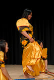 Dansers - Tinikling - Filipijnse Traditie Stock Foto