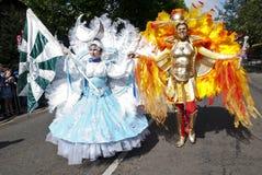 Dansers van de School van Londen van Samba Stock Fotografie