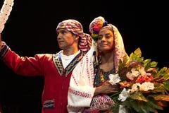 Dansers van het Ballet Moderno Y Folkloristische Nacional van Guatemala Royalty-vrije Stock Fotografie