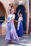Dansers van het renaissance de Eerlijke flamenco Stock Fotografie
