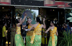 Danses de Balinese Photo stock
