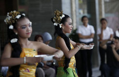 Danses de Balinese Images stock