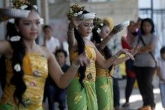 Danses de Balinese Image libre de droits