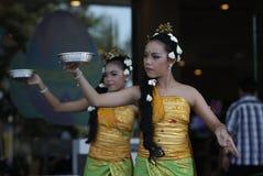 Danses de Balinese Photographie stock libre de droits