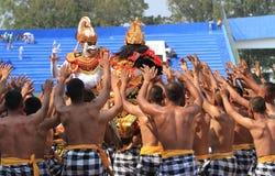 Danses de Balinese Images libres de droits