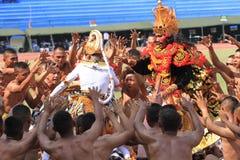 Danses de Balinese Photo stock