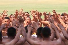 Danses de Balinese Photos libres de droits