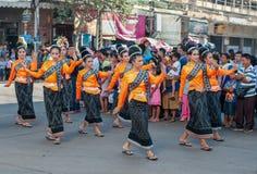 Danses de défilé Image libre de droits