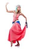 Danses de danse d'Espagnol de danseur Photo stock