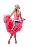 Danses de danse d'Espagnol de danseur Image stock