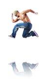 Danses de danse de danseur Photographie stock