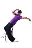 Danses de danse de danseur Photos libres de droits