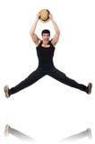 Danses de danse de danseur Image libre de droits