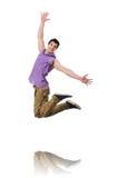 Danses de danse de danseur Photo stock
