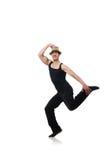 Danses de danse de danseur Images libres de droits