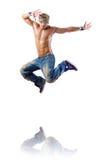 Danses de danse de danseur Photographie stock libre de droits